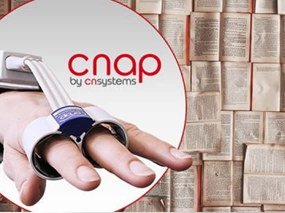 CNAP® is most popular finger blood pressure method