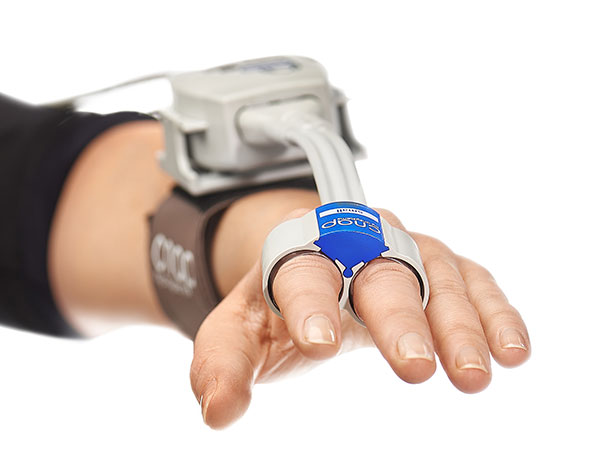 CNAP finger sensor by CNSystems