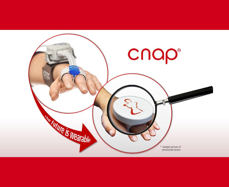 CNAP2GO wearable finger ring